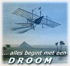 droom en vliegtuig