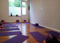 yogaruimte van binnen