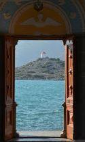 doorkijk naar zee