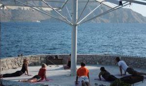 yoga in baai
